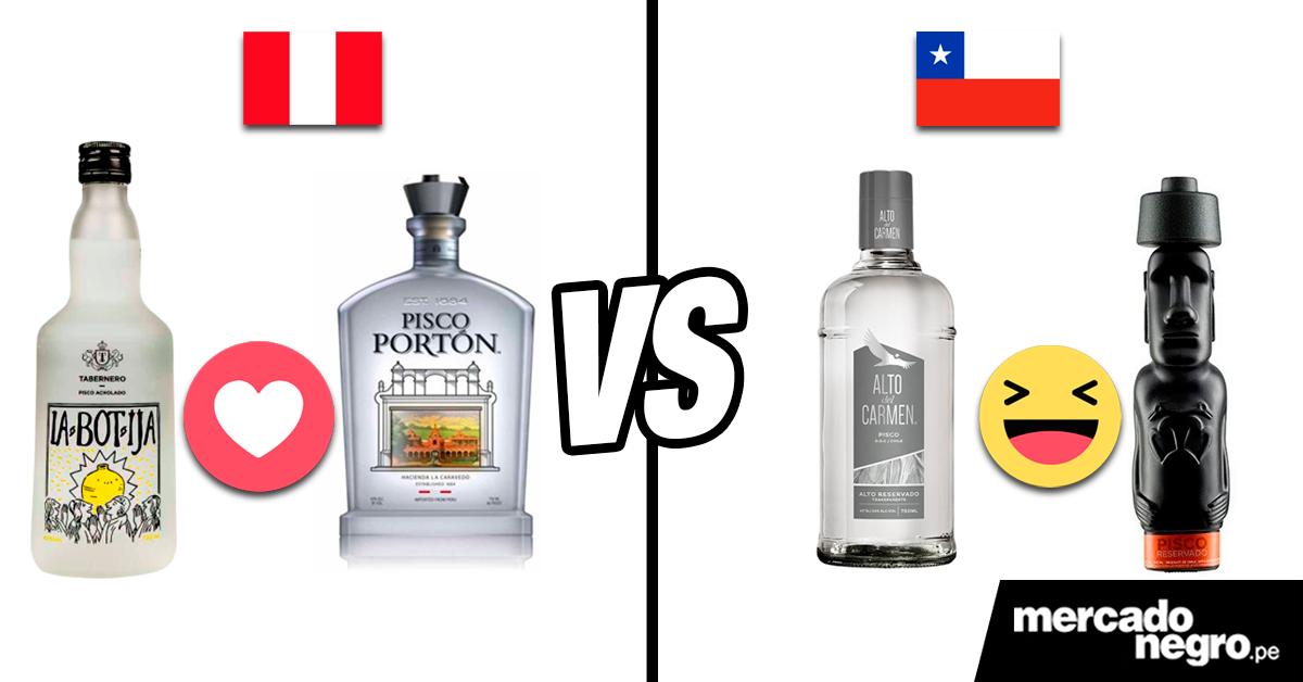 Peru Vs Chile Guerra Por El Pisco Mercado Negro