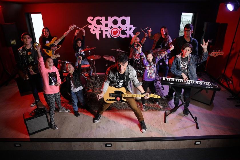 School Of Rock una academia musical que transforma vidas