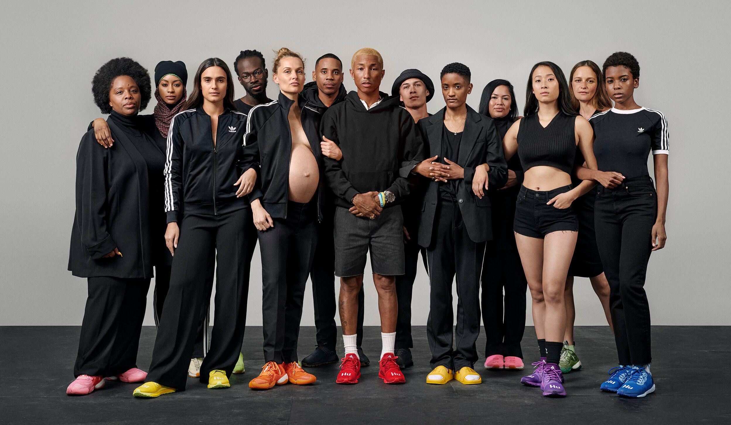Luna Ninguna vertical  Adidas y Pharrell Williams rinden homenaje a las mujeres