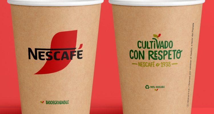 Nestlé presenta su nuevo vaso 100% biodegradable