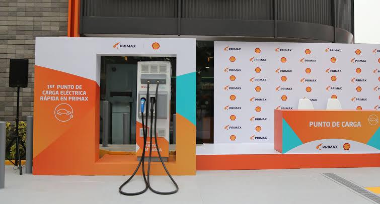 Primax y Shell estrenan el primer punto de carga para vehículos eléctricos del Perú