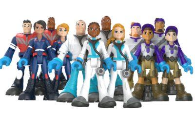 Mattel presenta colección de juguetes en conmemoración a los nuevos héroes