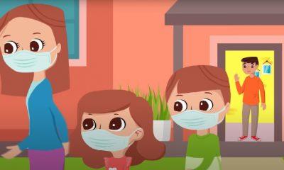Esta campaña animada explica a los niños cómo protegerse en sus cortos paseos