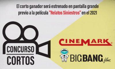 Cinemark y Big Bang realizan un concurso de cortos de terror