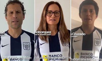Con esta campaña Alianza Lima celebra el Día de las Lenguas Originarias