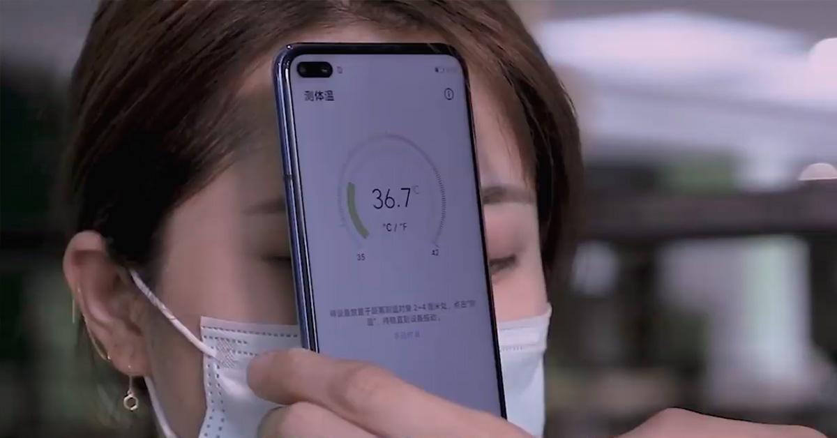 Huawei se reinventa y presenta su primer smartphone con termómetro