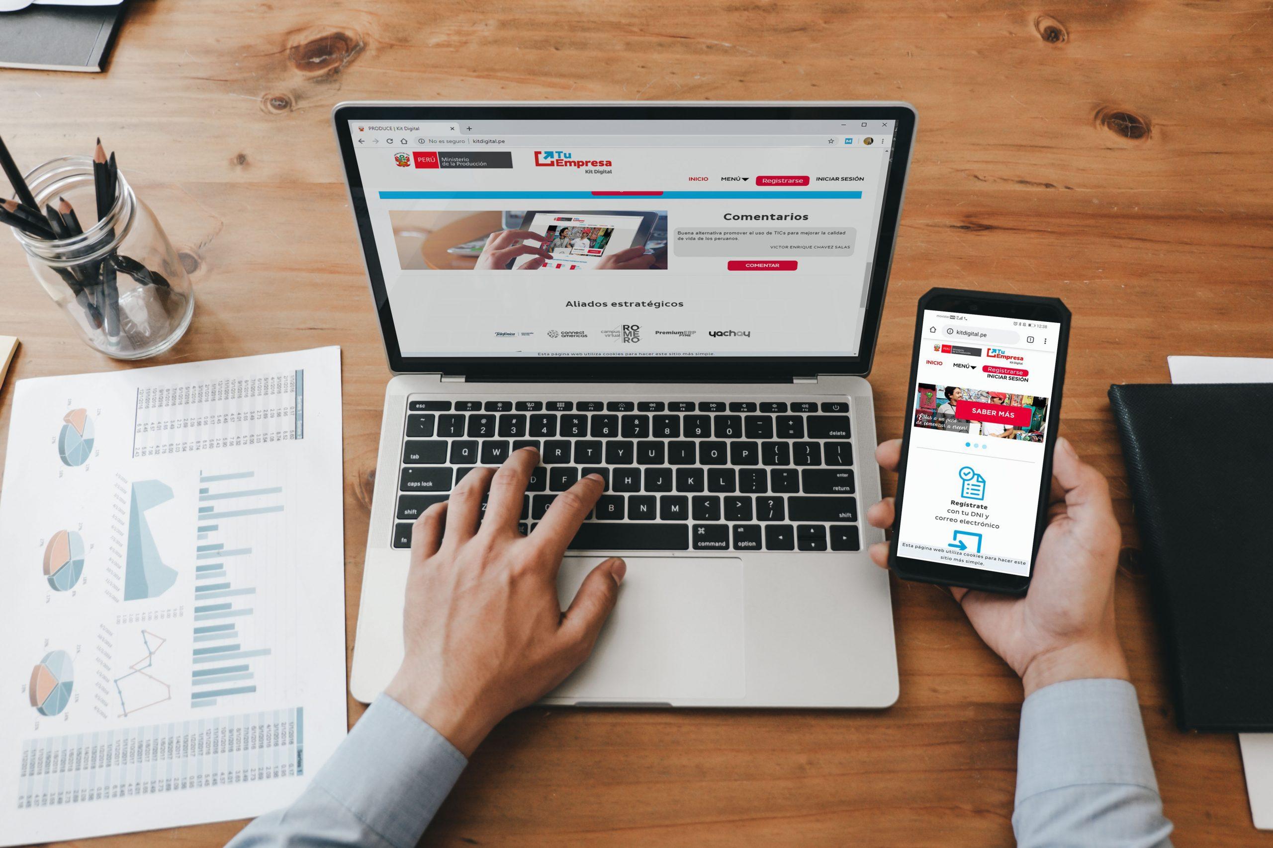 """Produce crea """"Kit Digital 2.0"""" para impulsar las ventas de las Mypes"""