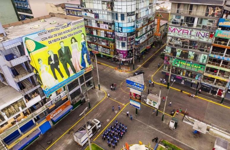 Gamarra, Polvos Azules y Las Malvinas reinician sus actividades vía ecommerce
