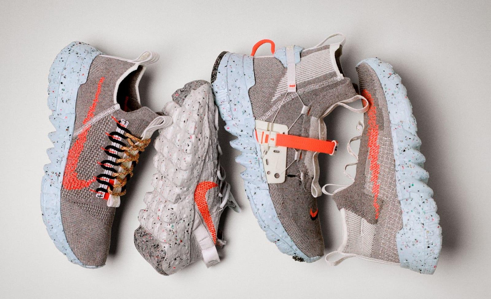 regional Hacer las tareas domésticas infinito  Nike elabora zapatillas a base de desechos y se agotan en un día