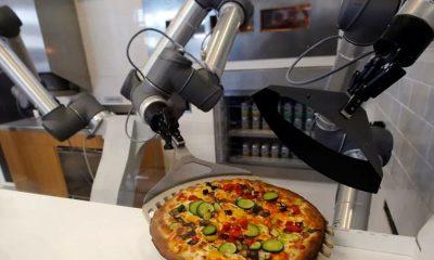 Pazzi: El primer robot pizzero