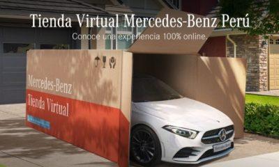 Mercedes Benz Perú estrena tienda virtual con entrega a domicilio