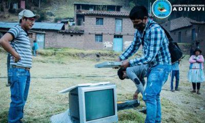 """""""Dona tu televisor"""", la iniciativa solidaria que promueve la educación en Ayacucho"""