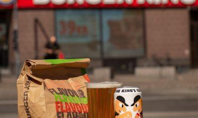 """Burger King agrega a su menú su nueva cerveza """"The King's Cup"""""""