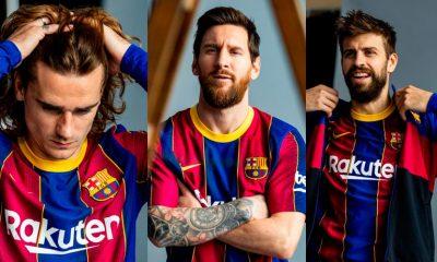 Barcelona presenta oficialmente su nueva camiseta