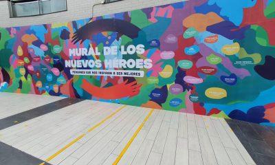 Parque Arauco presenta mural en honor a los nuevos héroes peruanos