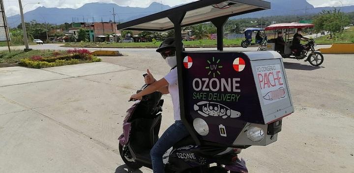 Peruanas patentan primer sistema de delivery inocuo