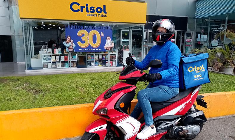 Crisol Express, la nueva iniciativa de delivery de la librería ante la pandemia