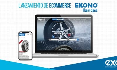 Ekonollantas lanza su nuevo eCommerce desarrollado una vez más por EXE