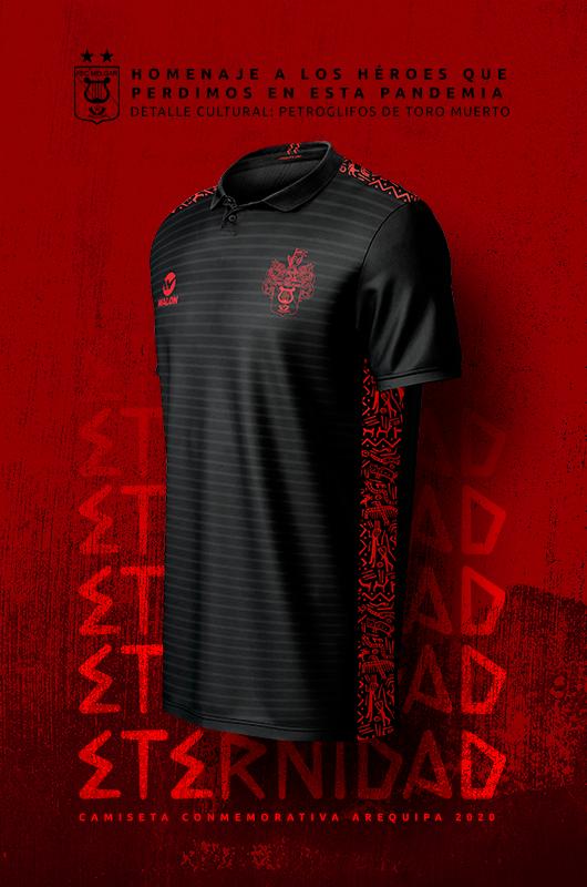 FBC Melgar presenta nueva camiseta que rinde homenaje a las víctimas del COVID-19