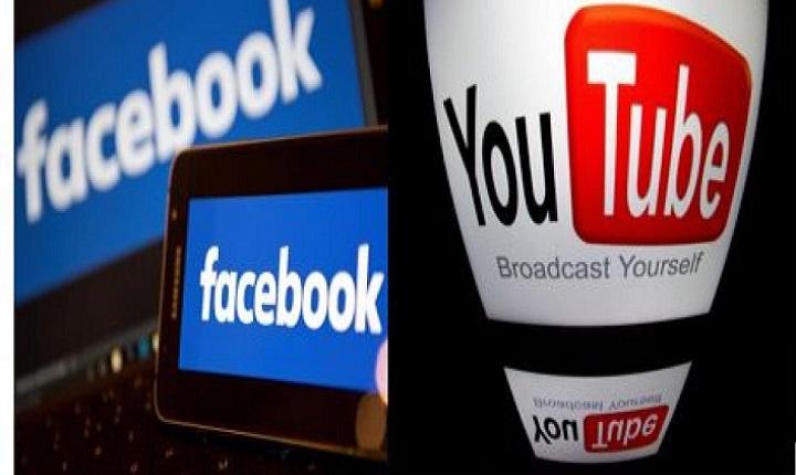 Facebook y Youtube para colgar vídeos publicitarios