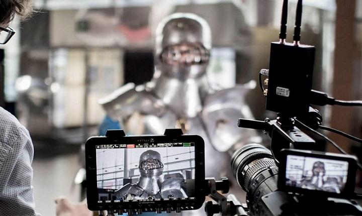 manejo de cámara en curso de producción audiovisual