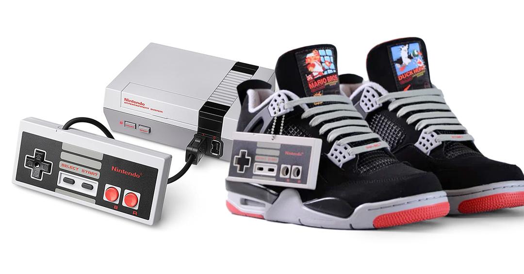 Banquete Educación escolar pastor  Nike y Nintendo se unen para crear zapatillas en tributo a Michael Jordan