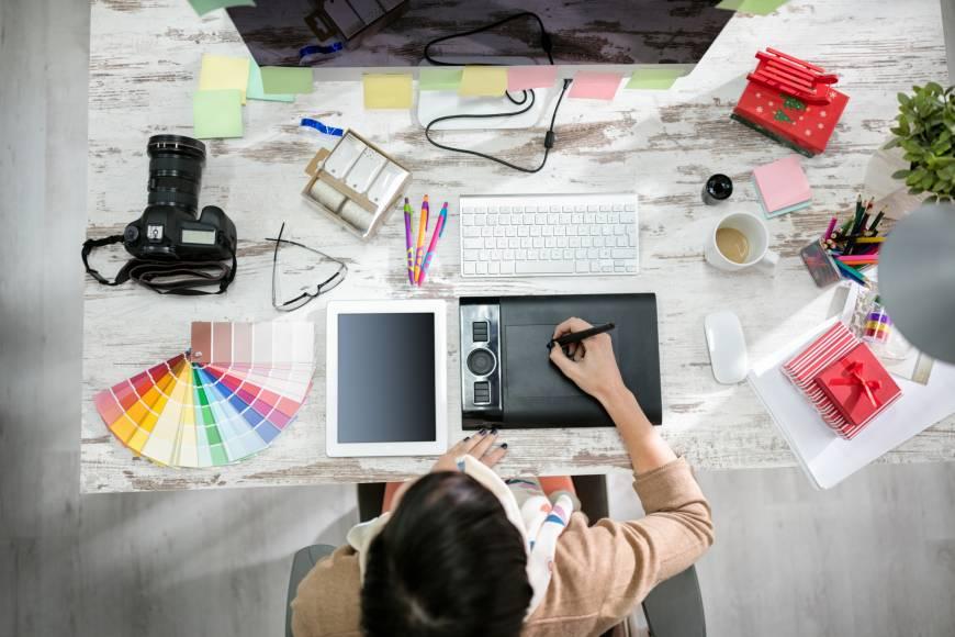Diseño gráfico y diseño digital en un mismo entorno