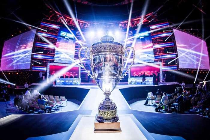 Trofeo disputados en los campeonatos de juegos electrónicos