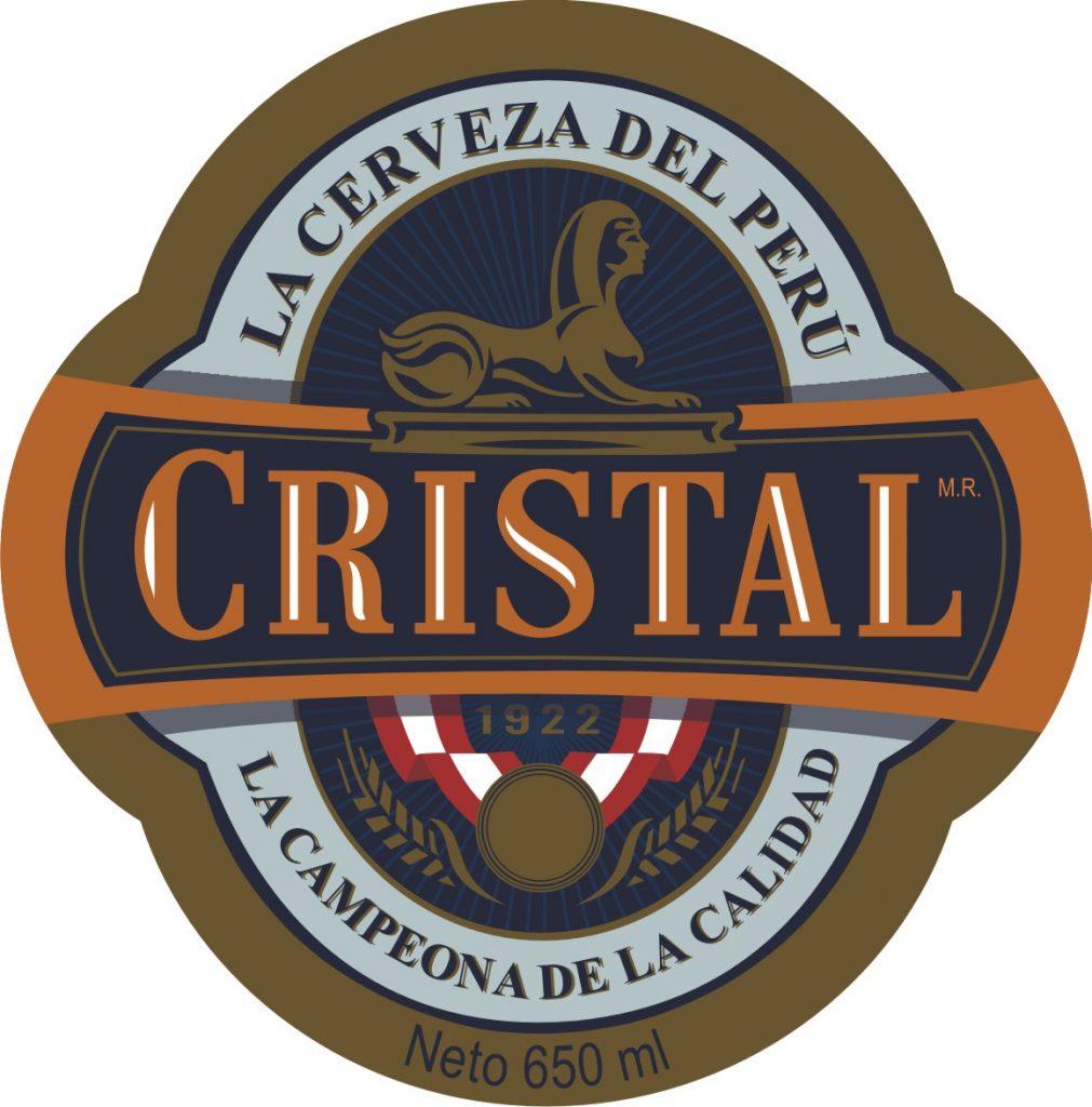 Logo de Cristal, marca de cerveza peruana