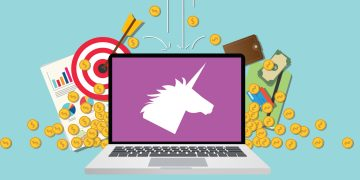 Gráfica sobre empresas unicornio