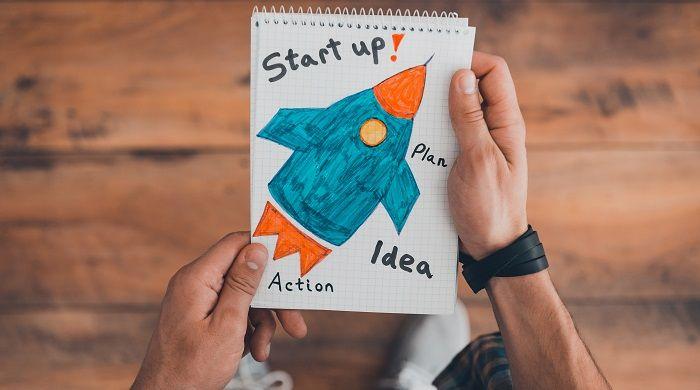 dibujo de startup sobre empresas unicornio