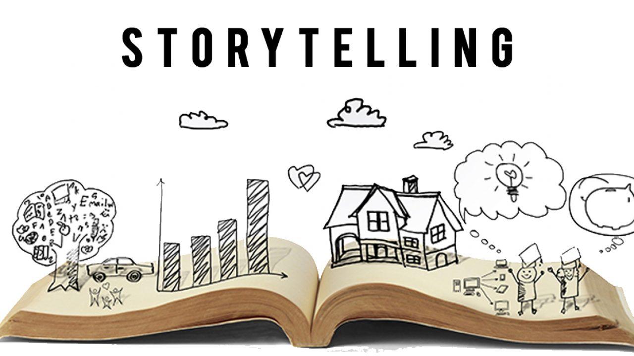 libro con imagenes sobre storytelling