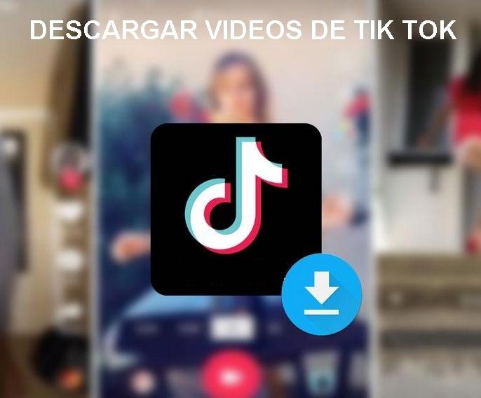 tutorial sobre descargar videos de tiktok