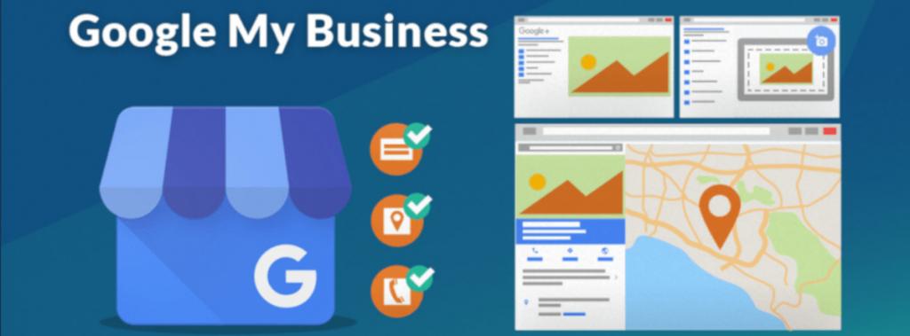 Ilustración sobre Google My Business