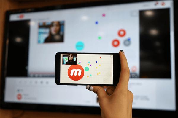 Imagen sobre la app Mobizen.