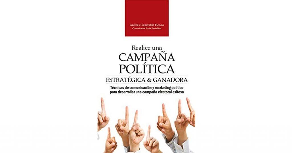 Portada del libro Realice una campaña política estratégica y ganadora.