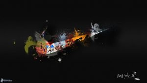 logo publicidad nike en colores