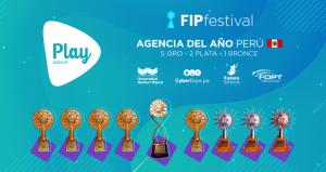 FIP 2020: PLAY Group gana como mejor agencia del año en el Perú.