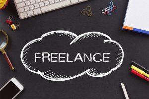 dibujo de nube sobre plataformas para freelancers en español