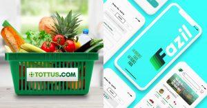 Tottus.com y Fazil, las plataformas digitales para hacer compras por delivery