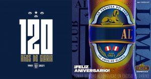 Alianza Lima celebró sus 120 años junto a Cerveza Cristal, sortearon botellas edición aniversario entre todos los hinchas