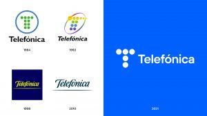 telefonica y sus logos