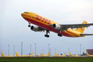 avión DHL