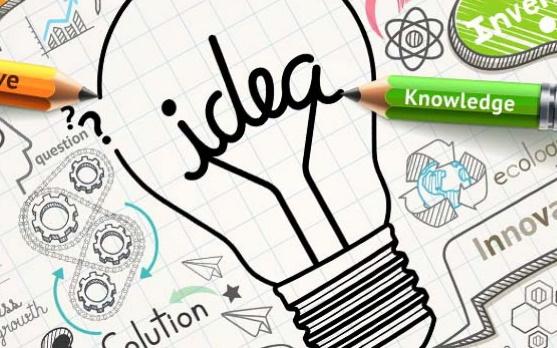 dibujos y letras sobre tips para emprender