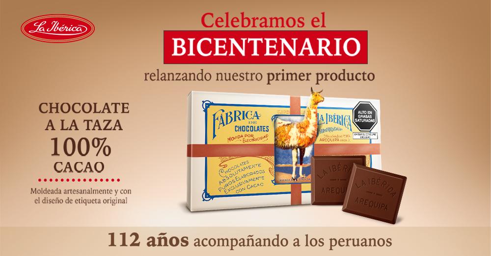 """""""Celebremos el Bicentenario"""" con La Ibérica, la marca que acompaña a los peruanos por 112 años"""