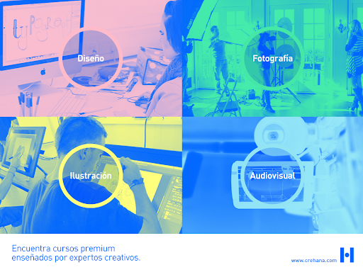 pantalla de colores sobre crehana startups con mayor financiamiento
