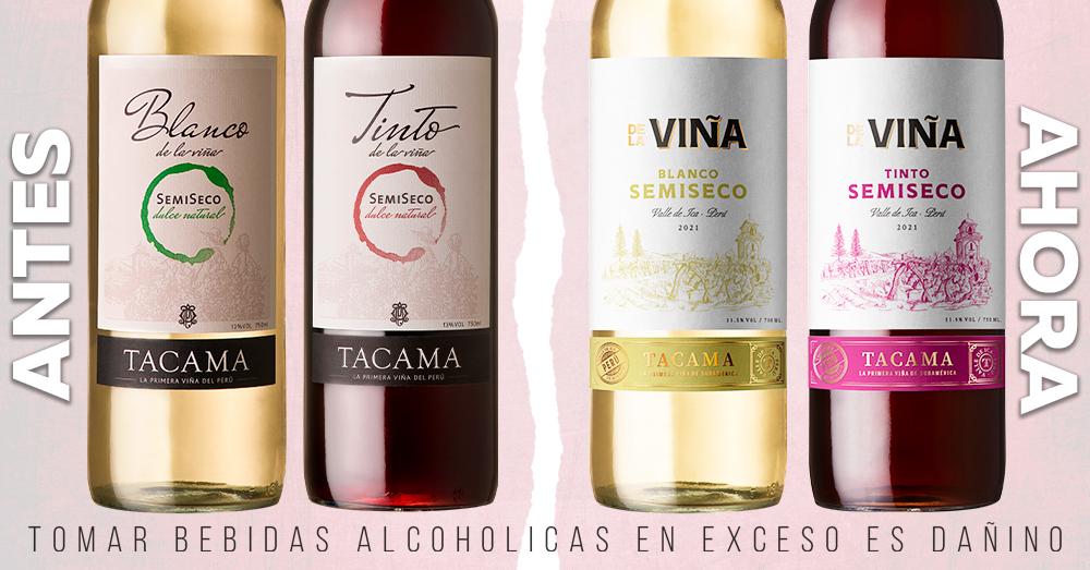 Rebranding: Línea De la Viña Tacama refresca identidad