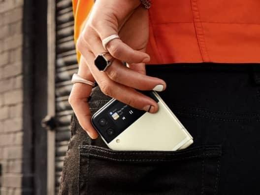 teléfonos plegable Galaxy Z Flip 5G