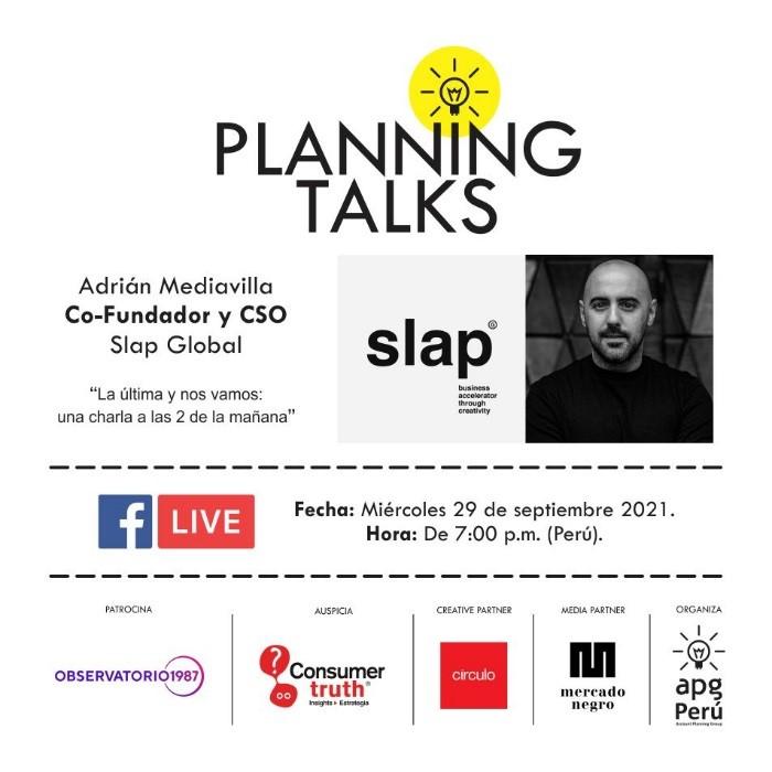 Planing Talks aviso